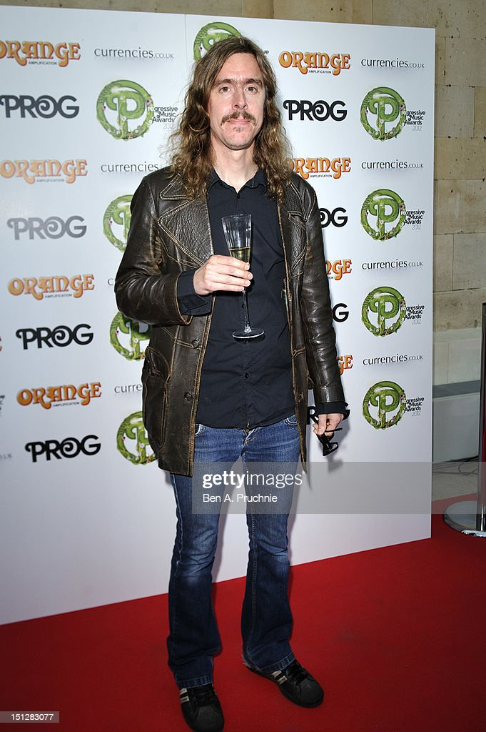Mikael Akerfeldt attends the Progressive Music Awards at Kew Gardens on September 5, 2012 in London, England.