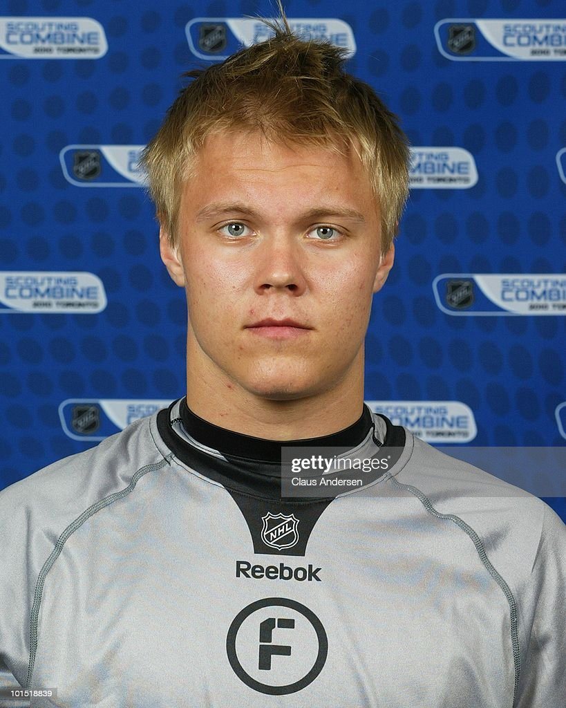 <a gi-track='captionPersonalityLinkClicked' href=/galleries/search?phrase=Mikael+Granlund&family=editorial&specificpeople=5649678 ng-click='$event.stopPropagation()'>Mikael Granlund</a> poses for a portrait prior to testing at the 2010 NHL Combine on May 28, 2010 at the Westin Bristol Place in Toronto, Canada.