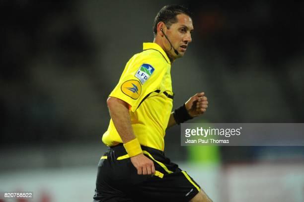 ARBITRE Mikael LESAGE Evian Thonon / Le Havre 14eme journee de Ligue 2
