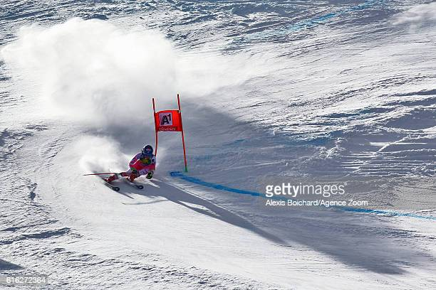 Mikaela Shiffrin of USA takes 2nd place during the Audi FIS Alpine Ski World Cup Women's Giant Slalom on October 22 2016 in Soelden Austria