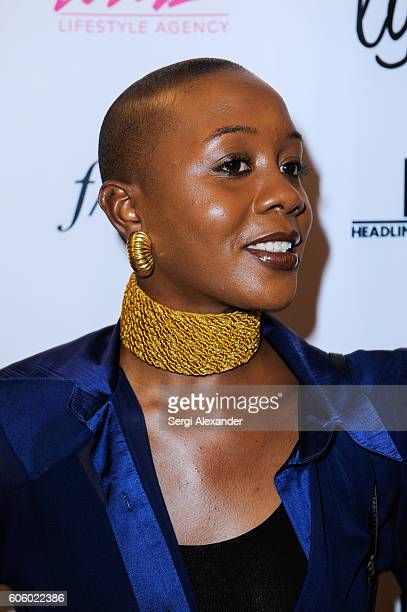 Mikara Reid attends Haitian photographer Bob Metelus unveils newest collection Haiti A Collective Cry from a Forgotten Paradise on September 15 2016...