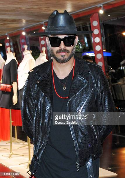 Mike Amiri attends DIOR SS17 Collection Launch at Maxfield on April 5 2017 in Los Angeles California