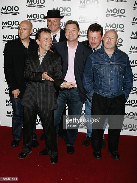Mike Barson Chris Foreman Lee Thompson John Hasler Cathal Smyth Suggs of Madness arrive at The MOJO Honours List 2005 the music magazine's second...