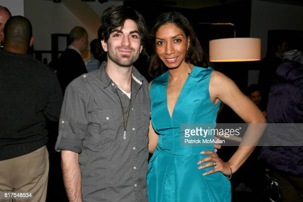 Mike Battaglia and Dawne Marie Grannum attend 8th Annual BoCONCEPT/KOLDESIGN Holiday Party at Bo Concept Madison Ave on December 14th 2010 in New...