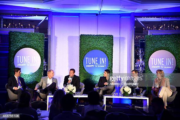 Mike Biard President Distribution Fox Networks Coleman Breland President Turner Network Sales Steven L Canepa General Manager Global Media...