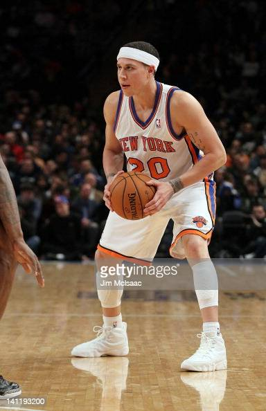 Mike Bibby of the New York Knicks in action against the Orlando Magic on January 16 2012 at Madison Square Garden in New York City The Magic defeated...