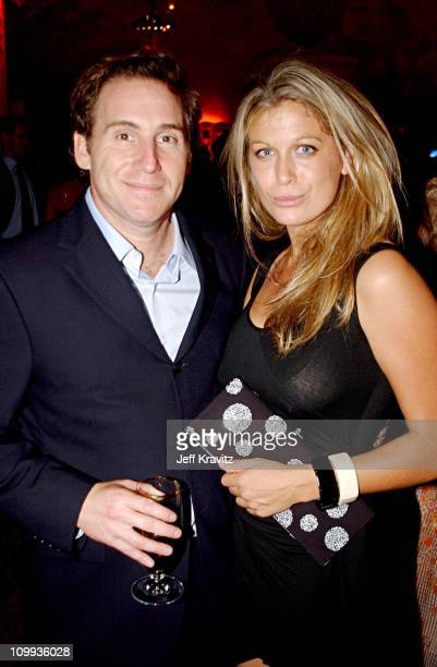 Mike Binder Sonya Walger during The 54th Annual Primetime Emmy Awards HBO Post Party at Spago's in Los Angeles California United States