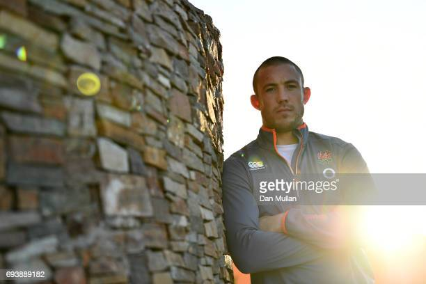 Mike Brown of England poses for a portrait following a press conference at Del Bono Park Hotel on June 8 2017 in San Juan San Juan