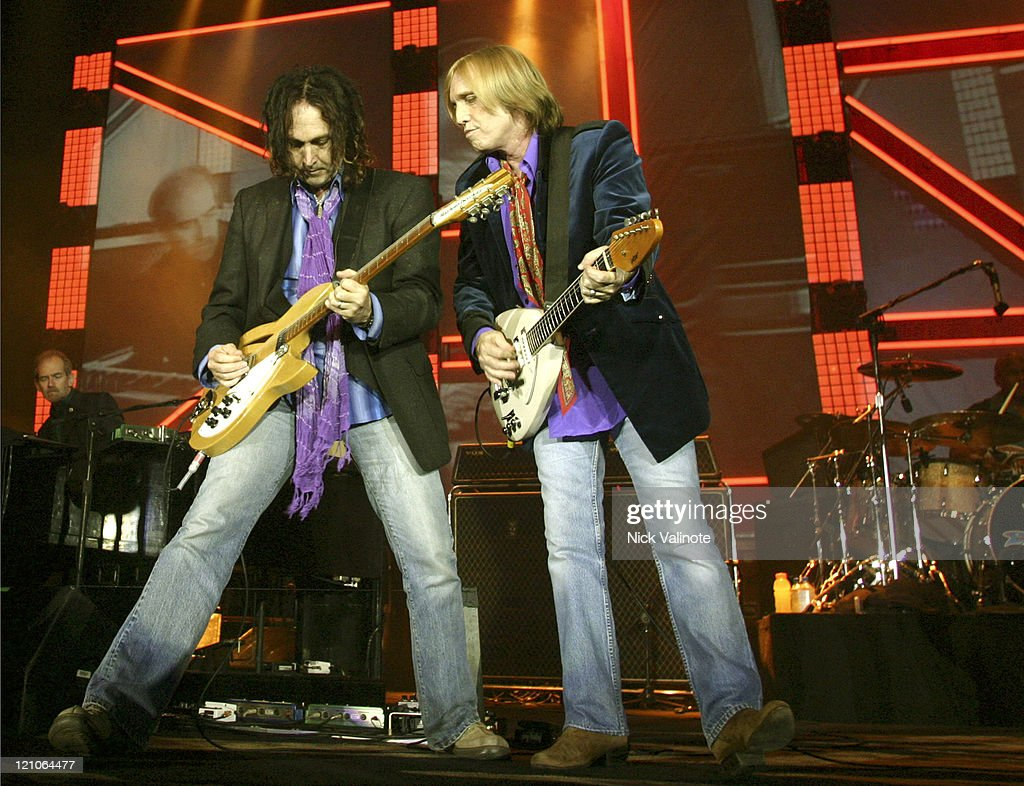 Mike Campbell and Tom Petty of Tom Petty and the Heartbreakers