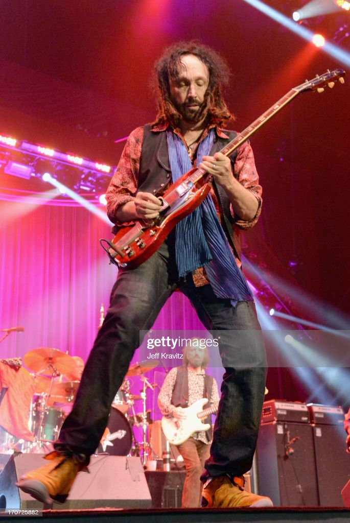 Mike Campbell of Tom Petty & The Heartbreakers perform onstage during day 4 of the 2013 Bonnaroo Music & Arts Festival on June 16, 2013 in Manchester, Tennessee.