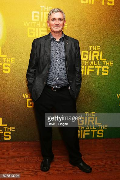 Mike Carey attends a special screening of 'The Girl With All The Gifts' at Vue West End on September 19 2016 in London England