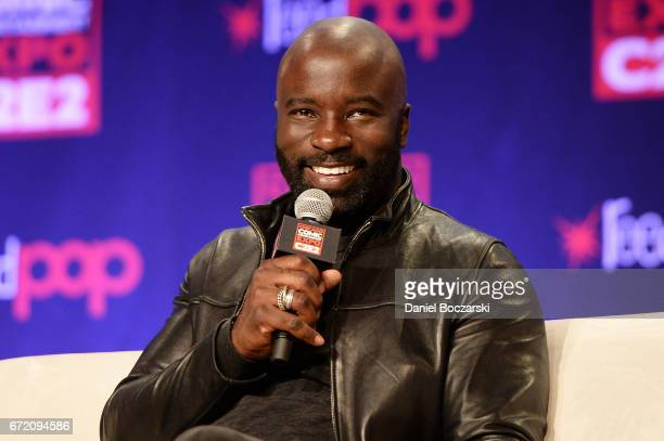 Mike Colter attends C2E2 Chicago Comic and Entertainment Expo at McCormick Place on April 23 2017 in Chicago Illinois