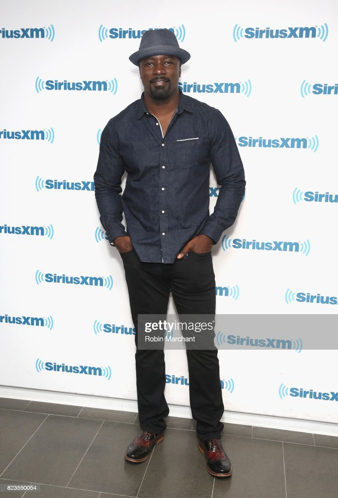 Mike Colter visits at SiriusXM Studios on July 27, 2017 in New York City.