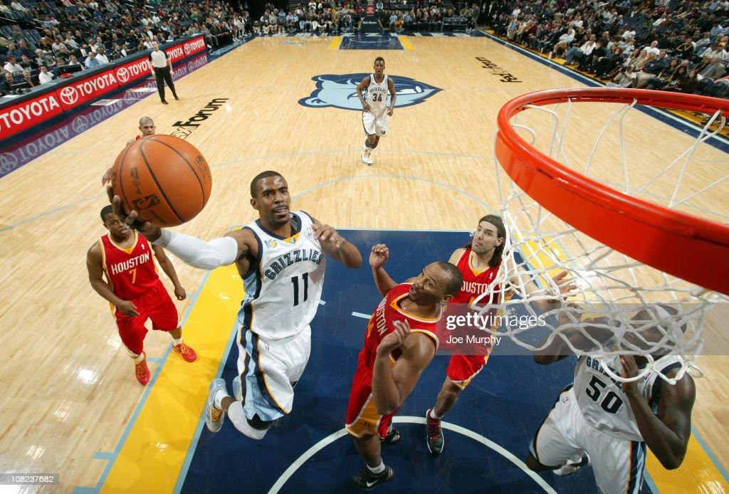 Houston Rockets v Memphis Grizzlies