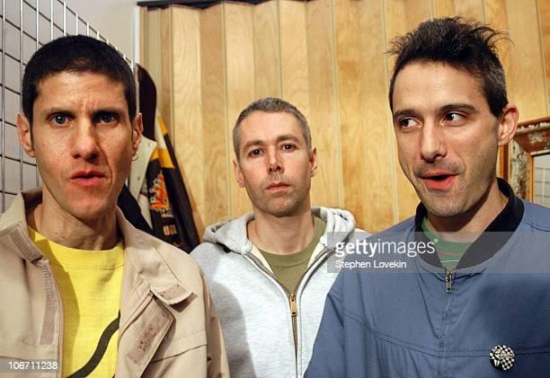 Mike D Adam Yauch and Adam Horovitz of the Beastie Boys