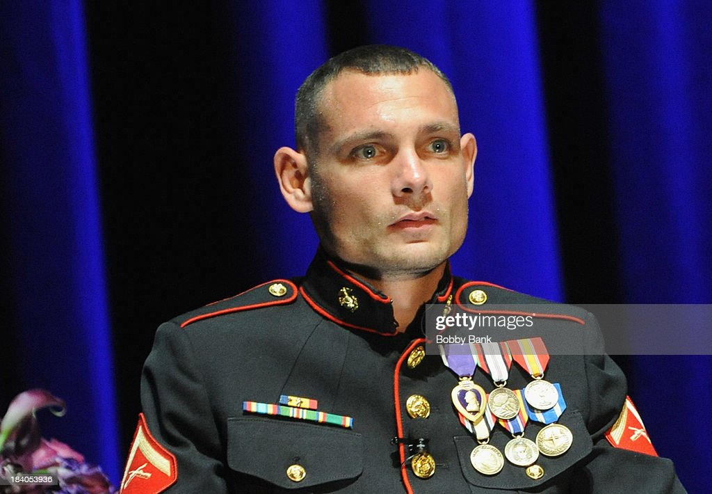 Mike Delancey, Jr. attends the Wounded Warrior Project Carry Forward Awards Show at Club Nokia on October 10, 2013 in Los Angeles, California.