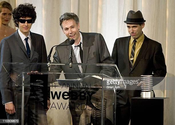 Mike Diamond Adam Yauch and Adam Horovitz of The Beastie Boys