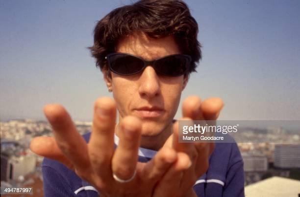 Mike Diamond of the Beastie Boys portrait Portugal 1998