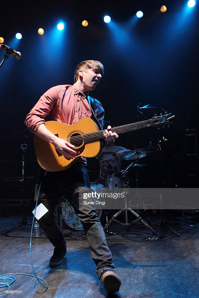 Mike Dignam performs on stage at O2 Shepherd's Bush Empire on March 1, 2013 in London, England.
