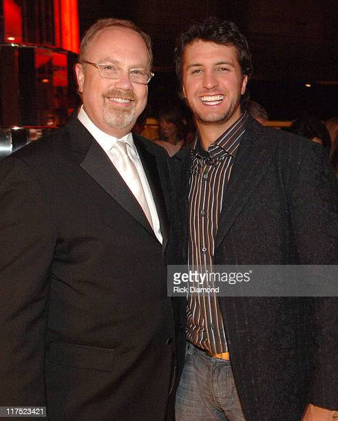 Mike Dungan CEO of Capitol Records Nashville and Luke Bryan