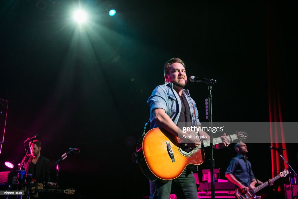 Mike Eli of the Eli Young band performs at The Fillmore Detroit on March 22, 2017 in Detroit, Michigan.