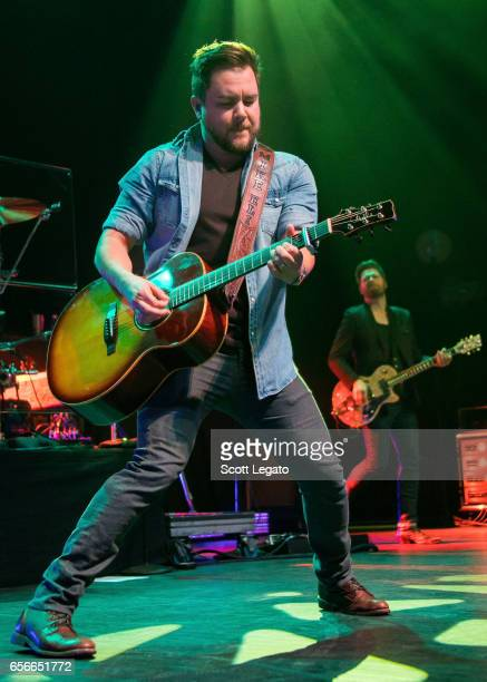 Mike Eli of the Eli Young band performs at The Fillmore Detroit on March 22 2017 in Detroit Michigan