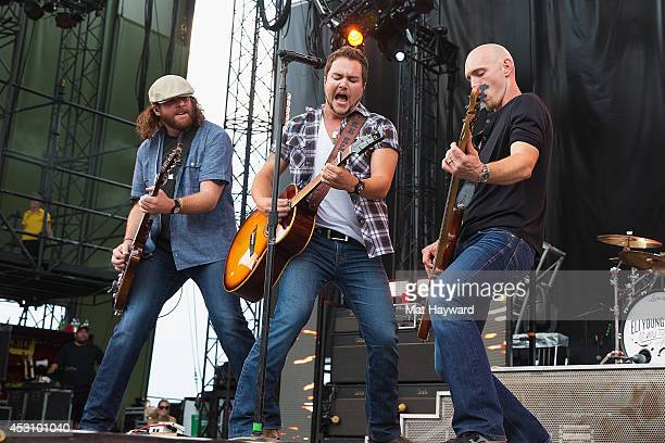 Mike Eli of the Eli Young Band performs during the Watershed Music Festival at The Gorge on August 2 2014 in George Washington