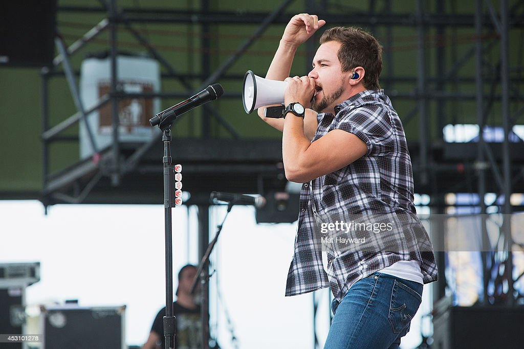 Mike Eli of the Eli Young Band performs during the Watershed Music Festival at The Gorge on August 2, 2014 in George, Washington.