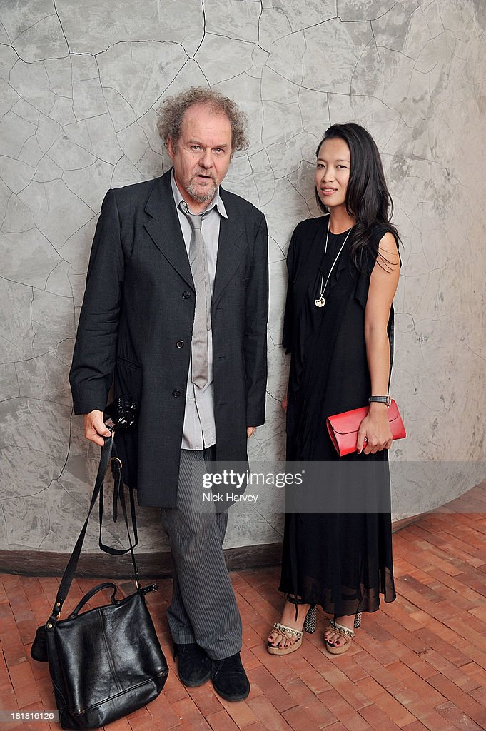 <a gi-track='captionPersonalityLinkClicked' href=/galleries/search?phrase=Mike+Figgis&family=editorial&specificpeople=601437 ng-click='$event.stopPropagation()'>Mike Figgis</a> and Rosey Chan attends the VIP opening of The Serpentine Sackler Gallery & Autumn Exhibitions at The Serpentine Sackler Gallery on September 25, 2013 in London, England.