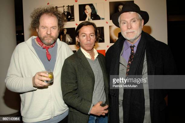 Mike Figgis Andy Spade and Glenn O'Brien attend MILK GALLERY and The Photographers' Gallery Presents Photography Project In New York Photos by MIKE...