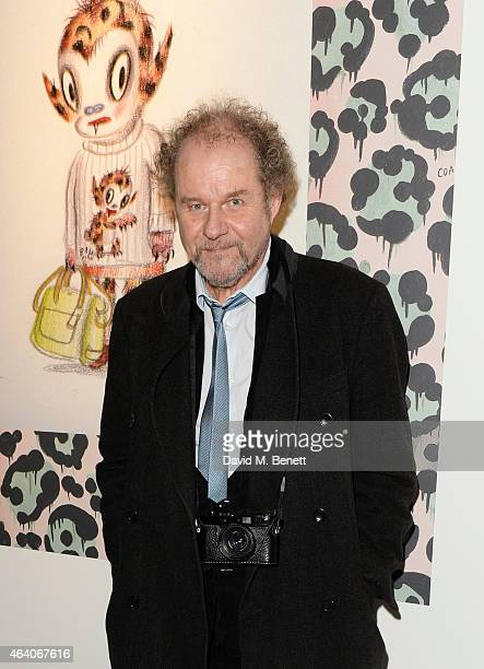 Mike Figgis attends the Coach X Serpentine The Future Contemporaries Party at The Serpentine Sackler Gallery on February 21 2015 in London England