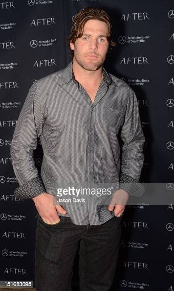 Mike Fisher attends the premiere of 'After' at the Carmike Thoroughbred 20 theater on September 9 2012 in Franklin Tennessee