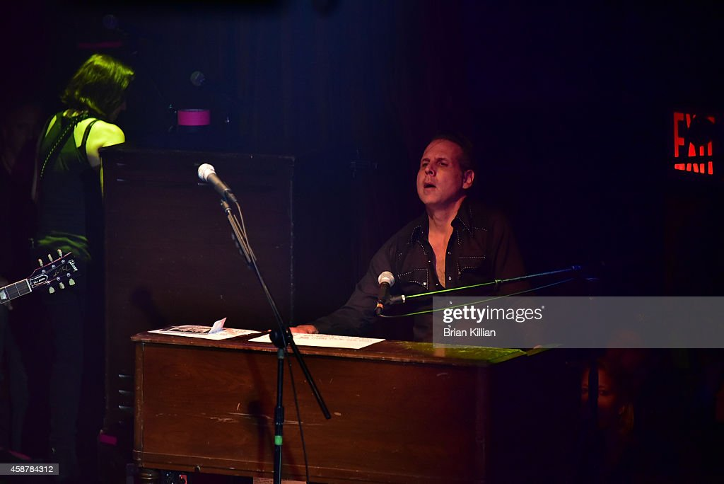 Mike Flanagan performs during the 2014 Wall Street Rocks Benefit Concert at Highline Ballroom on November 10 2014 in New York City