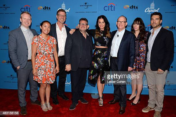 Mike Flynn manager Ngoc Hoang EVP of Capitol Music Group Greg ThompsonChairman and CEO of Universal Music Group Lucian Grainge singer Katy Perry...