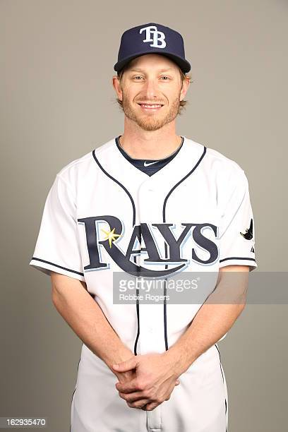 Mike Fontenot of the Tampa Bay Rays poses during Photo Day on February 21 2013 at Charlotte Sports Park in Port Charlotte Florida