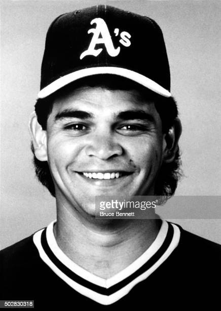 Mike Gallego of the Oakland Athletics poses for a portrait in March 1990 in Oakland California
