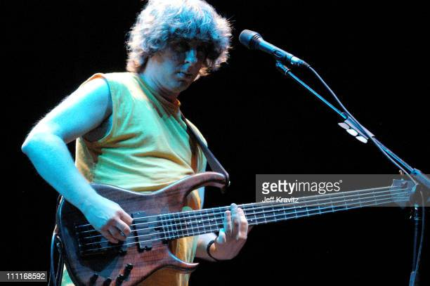Mike Gordon during Phish IT Festival Day 2 at Loring Airforce Base in Limestone Maine United States