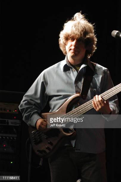 Mike Gordon during Phish It Festival Sound Check at Loring Airforce Base in Limestone Maine United States