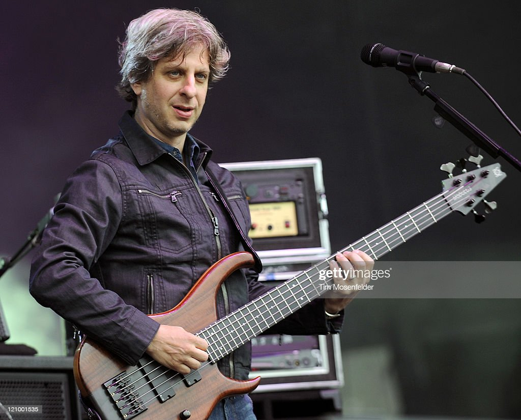 Mike Gordon of Phish performs at Day One of the Outside Lands Music