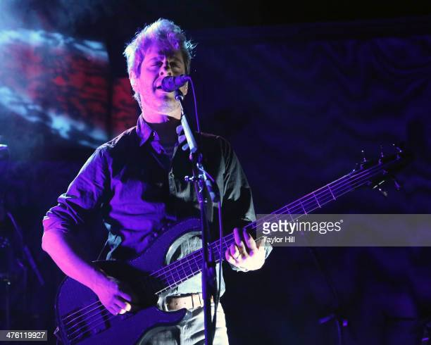 Mike Gordon performs at Webster Hall on March 1 2014 in New York City