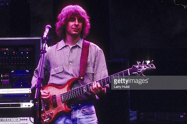 Mike Gordon playing in 'Phish' performing at Red Rocks Ampliatheater in Morrison Colorado on June 10 1995