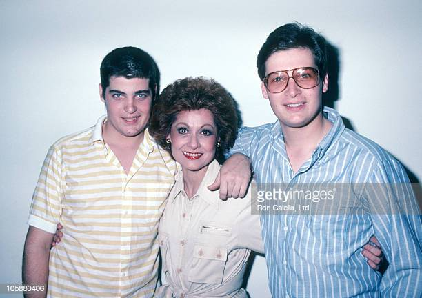 Mike Goulet Carol Lawrence and Chris Goulet during Exclusive Photo Session at Carol Lawrence's Beverly Hills Home at Carol Lawrence's Beverly Hills...
