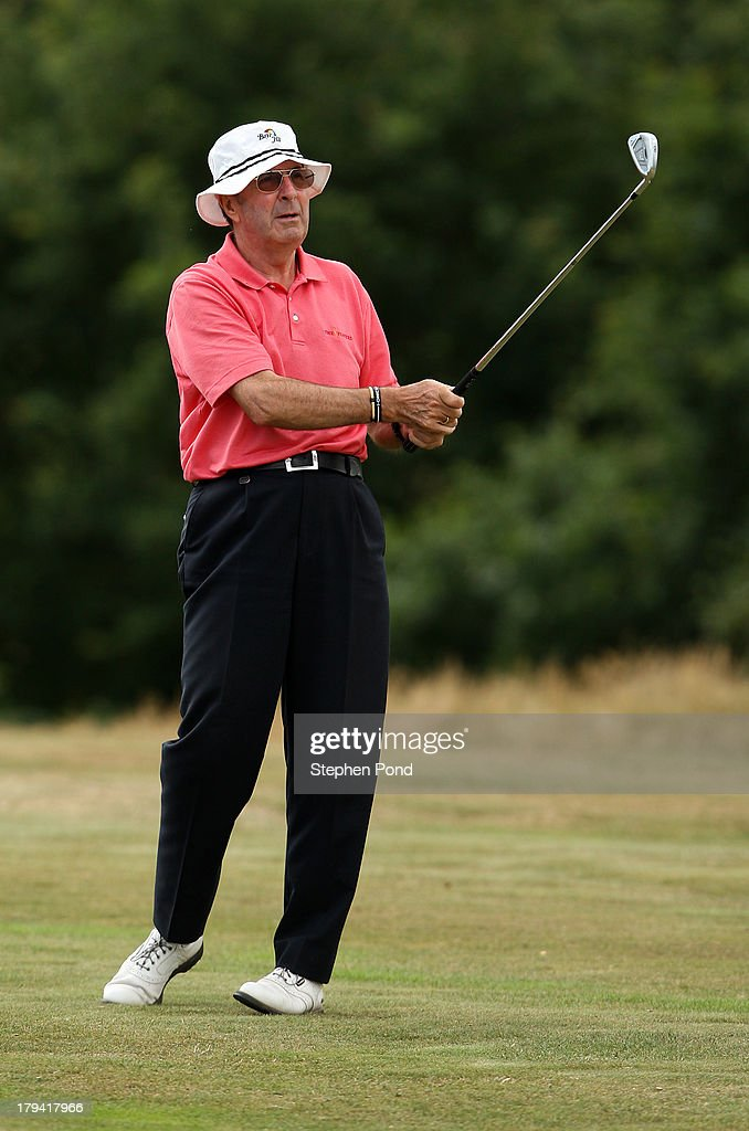 Mike Grantham during the PGA Super 60's Tournament at Thorpeness Hotel and Golf Club on August 30, 2013 in Thorpeness, England.
