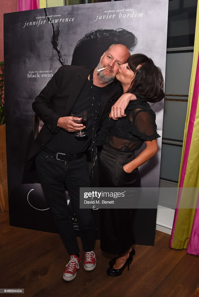 Mike Hansom and Collette Cooper attend a screening of 'mother!' hosted by Collette Cooper and Paramount Pictures in collaboration with Edible Cinema at The Soho Hotel on September 13, 2017 in London, England.