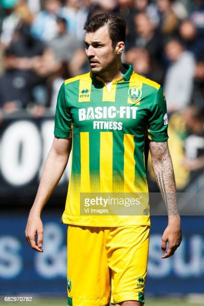 Mike Havenaar of ADO Den Haagduring the Dutch Eredivisie match between ADO Den Haag and sbv Excelsior at Kyocera stadium on May 14 2017 in The Hague...