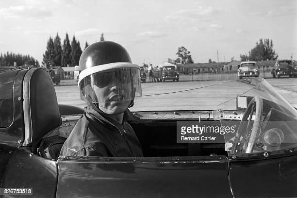 Mike Hawthorn Jaguar DType 12 Hours of Sebring Sebring 13 March 1955