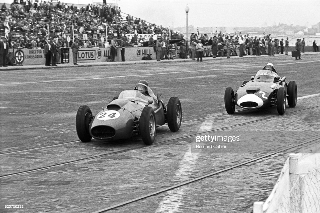 Mike Hawthorn, Stirling Moss, Grand Prix Of Portugal
