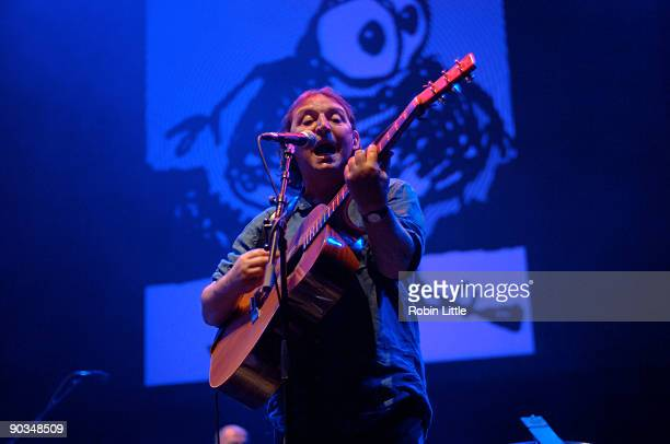 Mike Heron performs on stage at the Queen Elizabeth Hall on September 4 2009 in London England