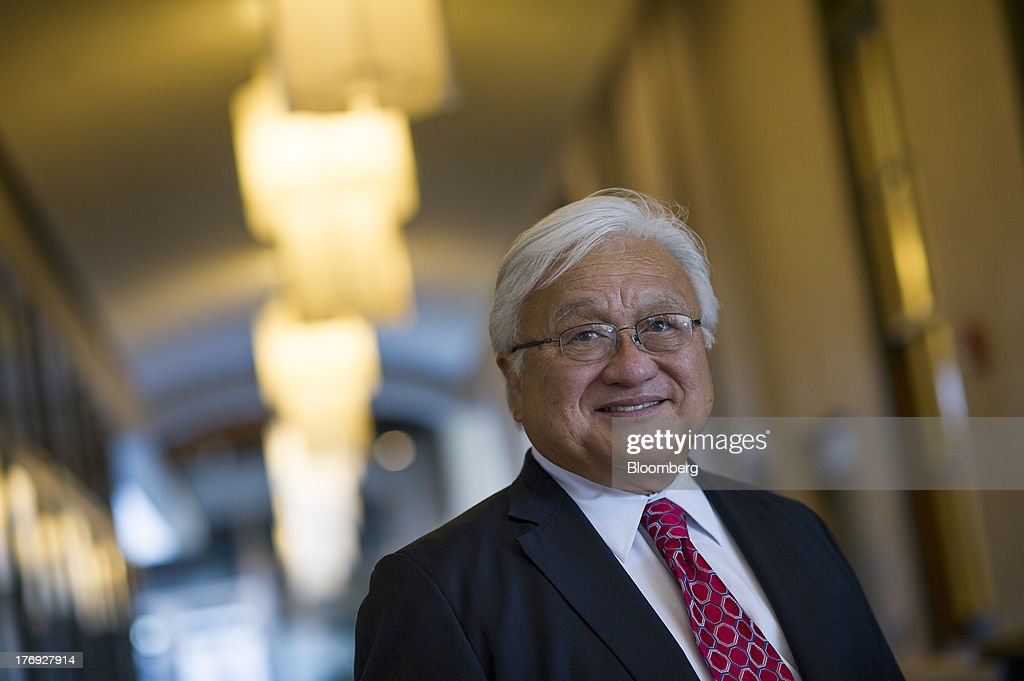 Mike Honda, a Democratic representative from California, stands for a photograph after a Bloomberg West Television interview in San Francisco, California, U.S., on Friday, Aug. 16, 2013. Rep. Honda, a Democrat whose district includes Silicon Valley, introduced a bill last month called the Patent Jobs Act, to not subject the patent office to sequestration. Photographer: David Paul Morris/Bloomberg via Getty Images