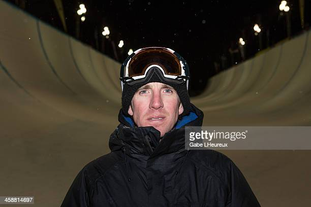 Mike Jankowski smiles after his the halfpipe finals where the US Team swept on December 21 2013 at Copper Mountain Colorado